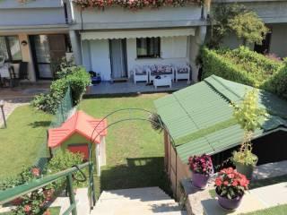 Foto - Villa a schiera via Linero, Centro, Sabbio Chiese