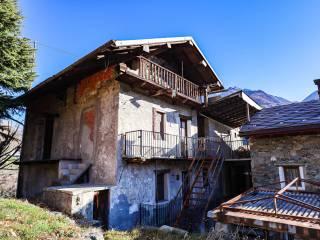 Foto - Rustico frazione Villa, Villa Nabian, Challand-Saint-Victor