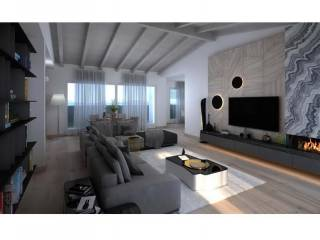 Foto - Villa bifamiliare via Roggia Morlana 30, Cavernago