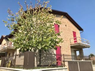 Foto - Villa a schiera via della Valle, Centro, Castelvetro di Modena