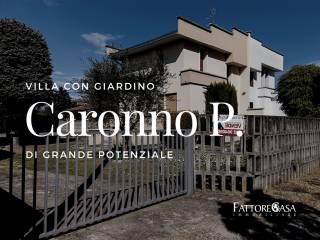 Foto - Villa bifamiliare vicolo Isaac Newton 28, Centro, Caronno Pertusella