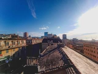Foto - Attico via San Pier d'Arena 17, Sampierdarena, Genova