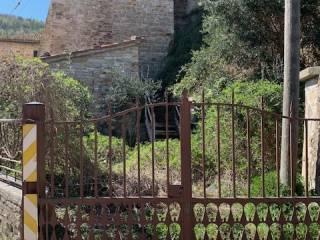 cancello del giardino privato