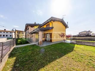 Foto - Villa a schiera via Amintore Fanfani, Offanengo