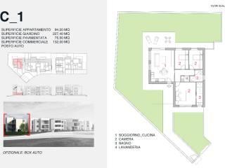 Foto - Quadrilocale nuovo, piano terra, Porto Potenza Picena, Potenza Picena