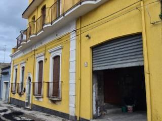 facciata e garage
