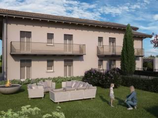 Foto - Trilocale nuovo, piano terra, Centro, Alzano Lombardo