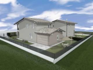 Foto - Villa a schiera via Ettore Violante 12, San Polo Vecchio, Brescia