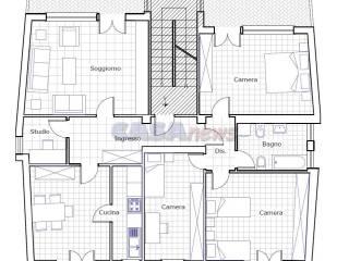Foto - Appartamento buono stato, primo piano, San Cristoforo - Coop, Fano