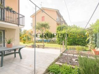 Foto - Villa a schiera via Ludovico d'Aragona 18, Centro, Cernusco sul Naviglio