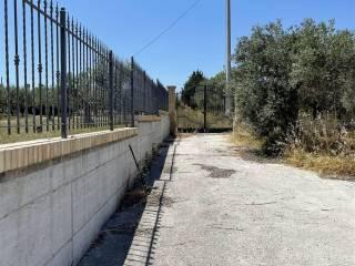 Foto esterno muro perimetrale