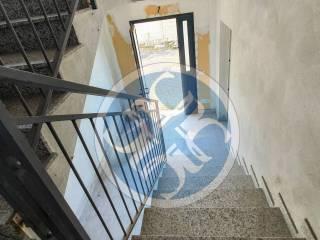 scalinata accesso piani