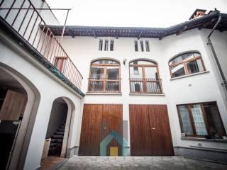 Foto - Quadrilocale via Umberto I 24, Centro, Vigone