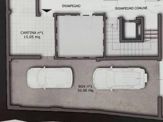 planimetria box e cantina