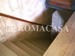 Dettaglio Scala Palazzo Storico Bagnoregio (VT) -