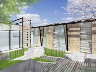 Render cortile interno