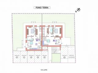 Piano terra due appartamenti