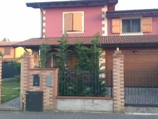 Foto - Villa bifamiliare via Scalabrina, Torlino Vimercati