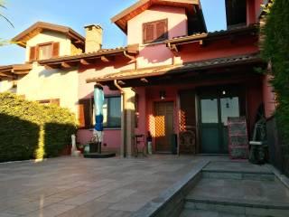 Foto - Villa a schiera via San Francesco d'Assisi 23, Torrazza Piemonte