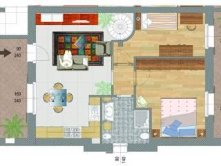 Foto - Bilocale nuovo, primo piano, Centro, Peschiera del Garda