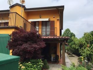 Foto - Villa a schiera via Gioacchino Rossini 10, Gropello Cairoli