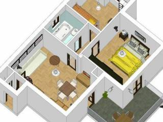 Photo - 3-room flat via Don Enrico Cazzaniga 2, Liscate