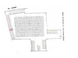 Photo - Parking space via Casilina 1364, Monte Compatri