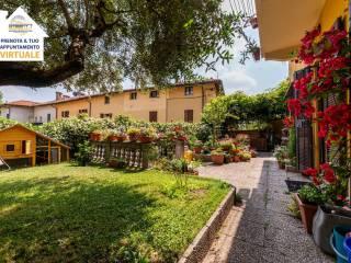 Foto - Terratetto unifamiliare via Galileo Galilei 2, Sartirana, Cassina, Cicognola, Sabbioncello, Merate