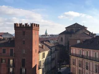 Foto - Mansarda piazza Statuto 8, Centro Storico, Asti