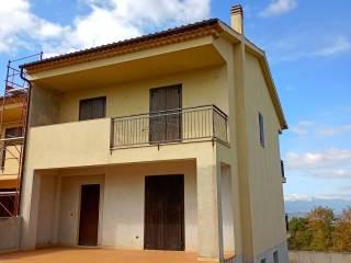 Foto - Villa a schiera via dei Tamburi 3, Sant'Ippolito - Borgo Partenope, Cosenza
